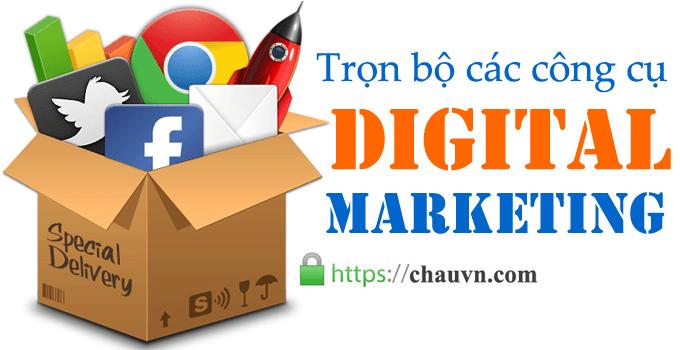 trọn bộ các công cụ digital marketing