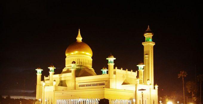 Du lịch bụi Brunei - Thánh đường Omar Ali Saifuddien Mosque 4
