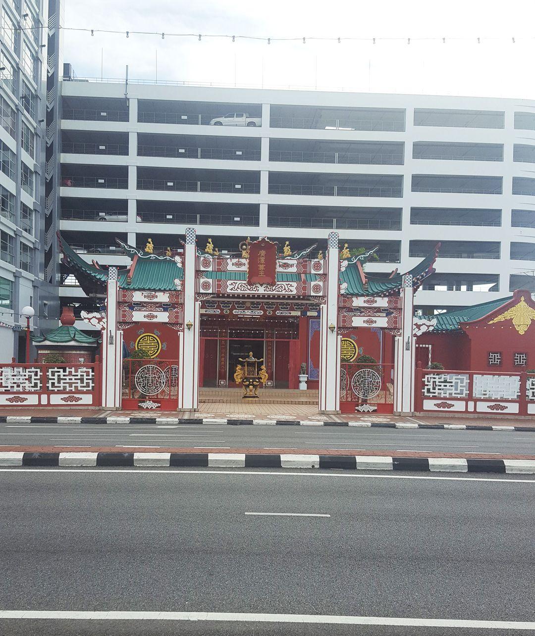 Du lịch bụi Brunei - Đền Teng Yun Temple