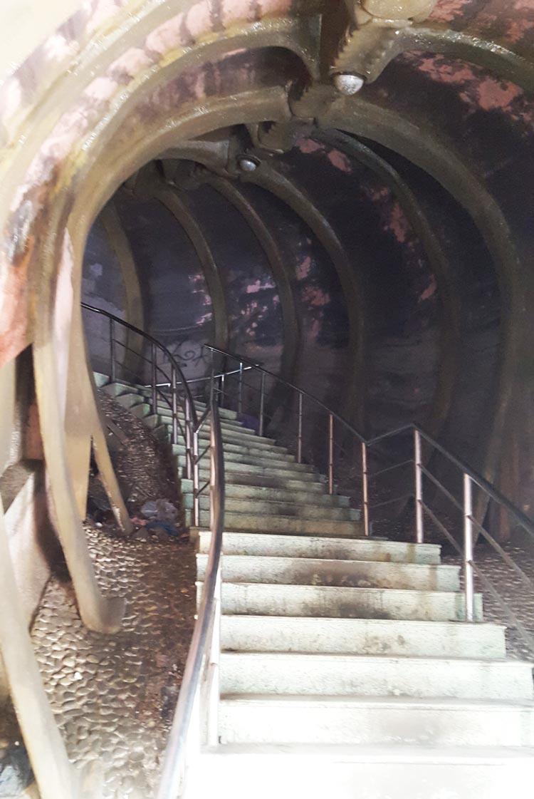 Công viên nước hồ Thủy Tiên - Lối lên đầu rồng