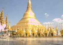 Chia sẻ kinh nghiệm du lịch bụi Myanmar 1 chùa Shwedagon