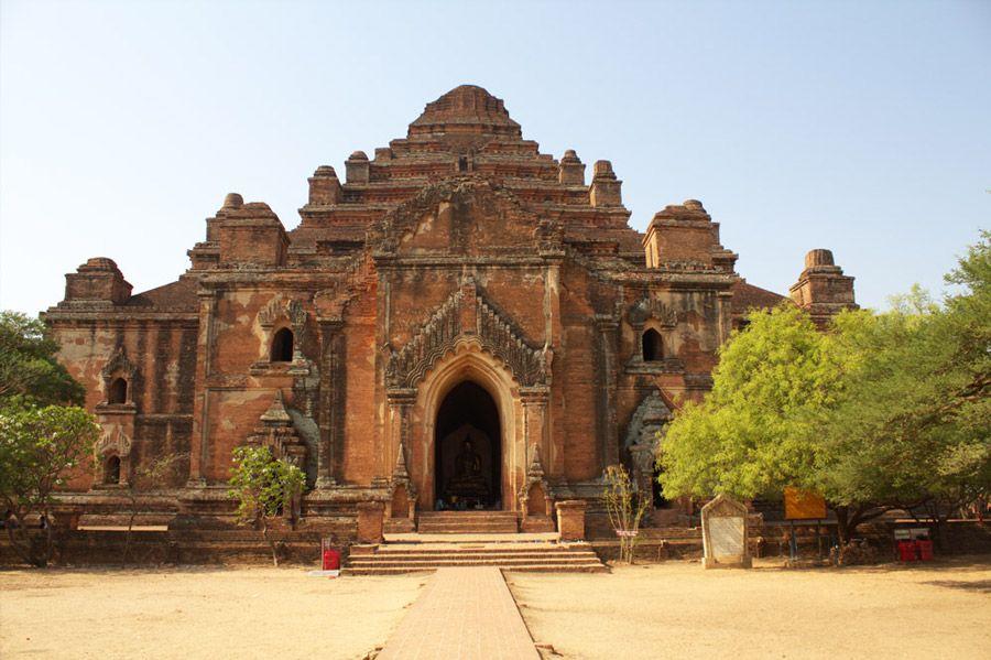 Chia sẻ kinh nghiệm du lịch bụi Myanmar 10 - Đền DhammaYangyi