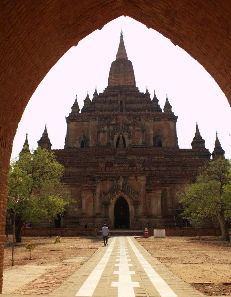Chia sẻ kinh nghiệm du lịch bụi Myanmar 14a - Đền Sulamani