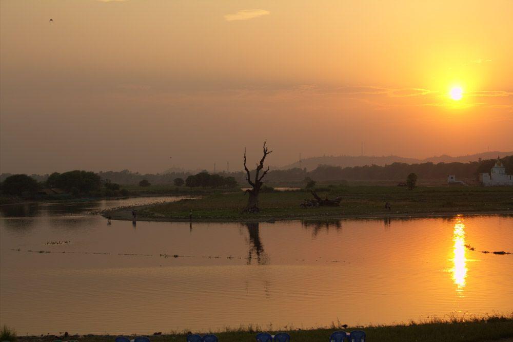 Chia sẻ kinh nghiệm du lịch bụi Myanmar 16 - Cầu U Bein