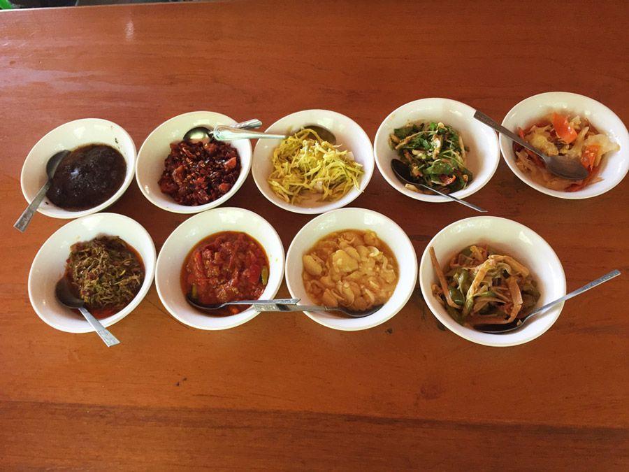 Chia sẻ kinh nghiệm du lịch bụi Myanmar 2 - món ăn truyền thống Myanmar