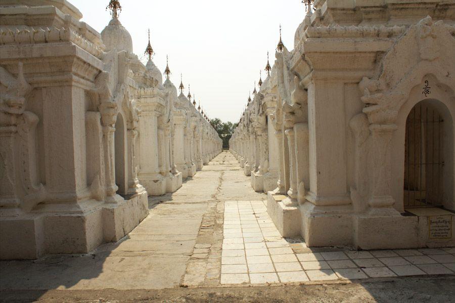 Chia sẻ kinh nghiệm du lịch bụi Myanmar 22 - chùa Kuthodaw