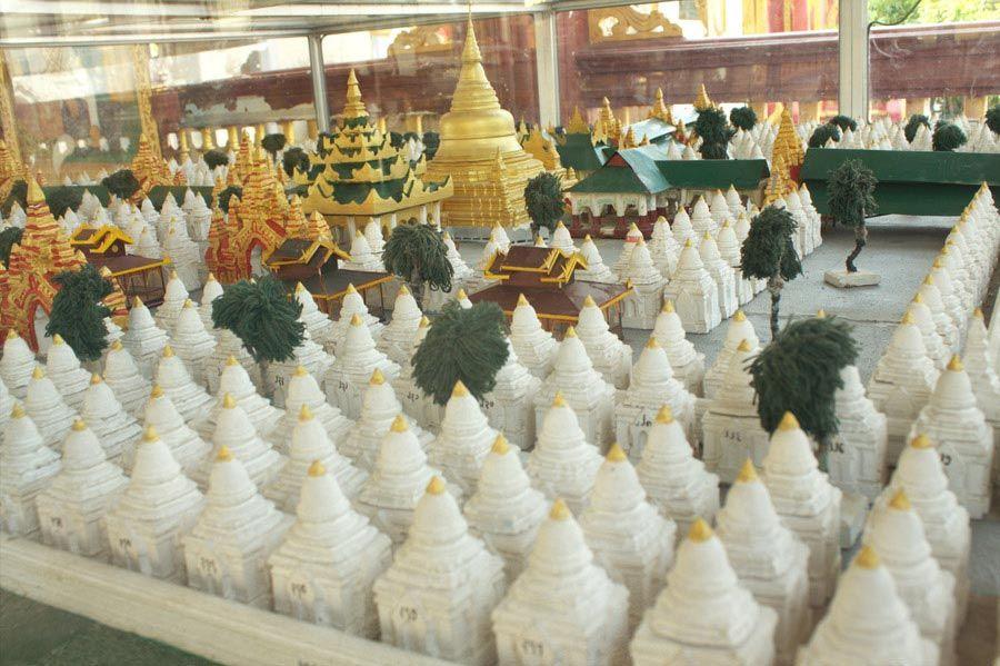 Chia sẻ kinh nghiệm du lịch bụi Myanmar 23 - chùa Kuthodaw
