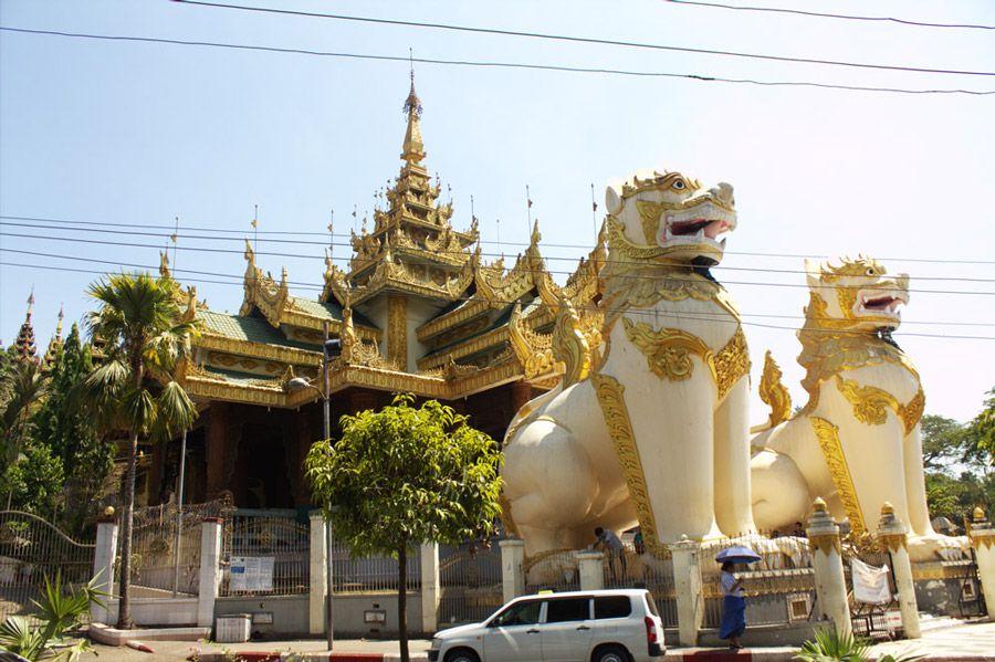 Chia sẻ kinh nghiệm du lịch bụi Myanmar 3 - chùa Shwedagon