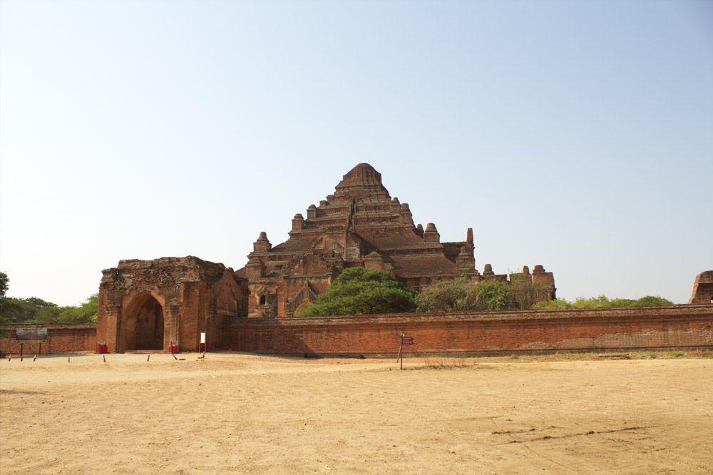 Chia sẻ kinh nghiệm du lịch bụi Myanmar 9 - Đền DhammaYangyi
