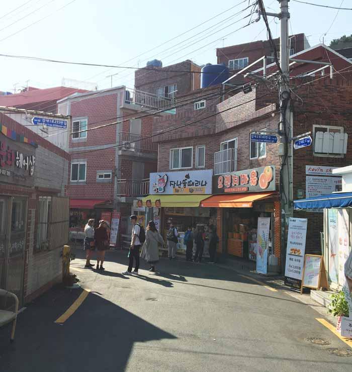 Chia sẻ kinh nghiệm du lịch bụi Hàn Quốc trong 8 ngày - hình 10 - Làng Gamcheon Culture Village