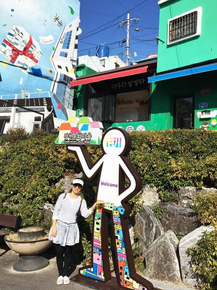 Chia sẻ kinh nghiệm du lịch bụi Hàn Quốc trong 8 ngày - hình 9 - Làng Gamcheon Culture Village