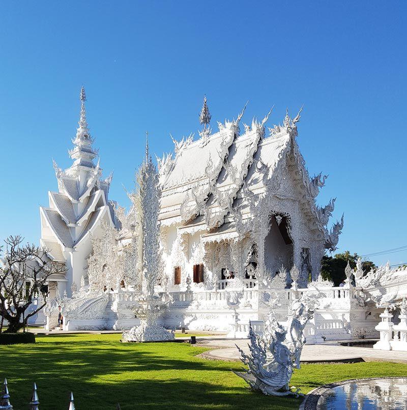 Kinh nghiệm du lịch bụi Thái Lan 1 - Đền Trắng White Temple