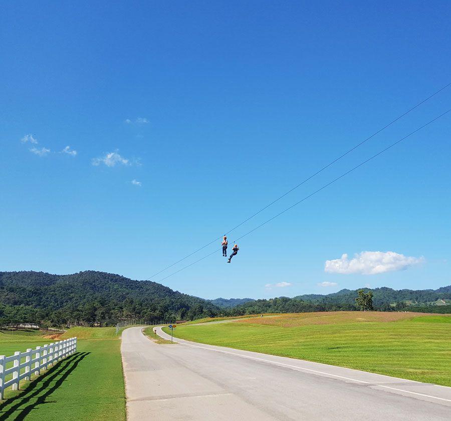 Kinh nghiệm du lịch bụi Thái Lan 10 - Singha Park Chiang Rai