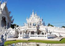 Kinh nghiệm du lịch bụi Thái Lan 11 - Đền Trắng White Temple