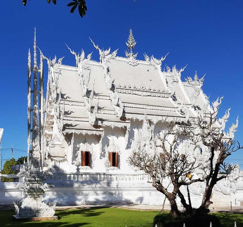 Kinh nghiệm du lịch bụi Thái Lan 13 - Đền Trắng White Temple