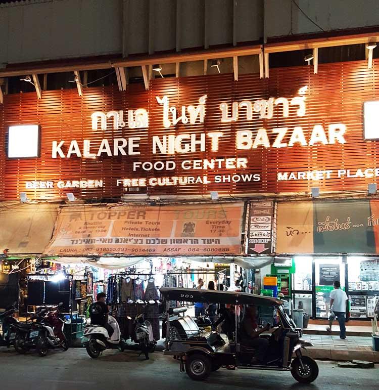 Kinh nghiệm du lịch bụi Thái Lan 17 - Kalare Night Bazaar