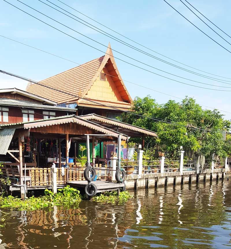 Kinh nghiệm du lịch bụi Thái Lan 4 - Taling Chang Floating Market