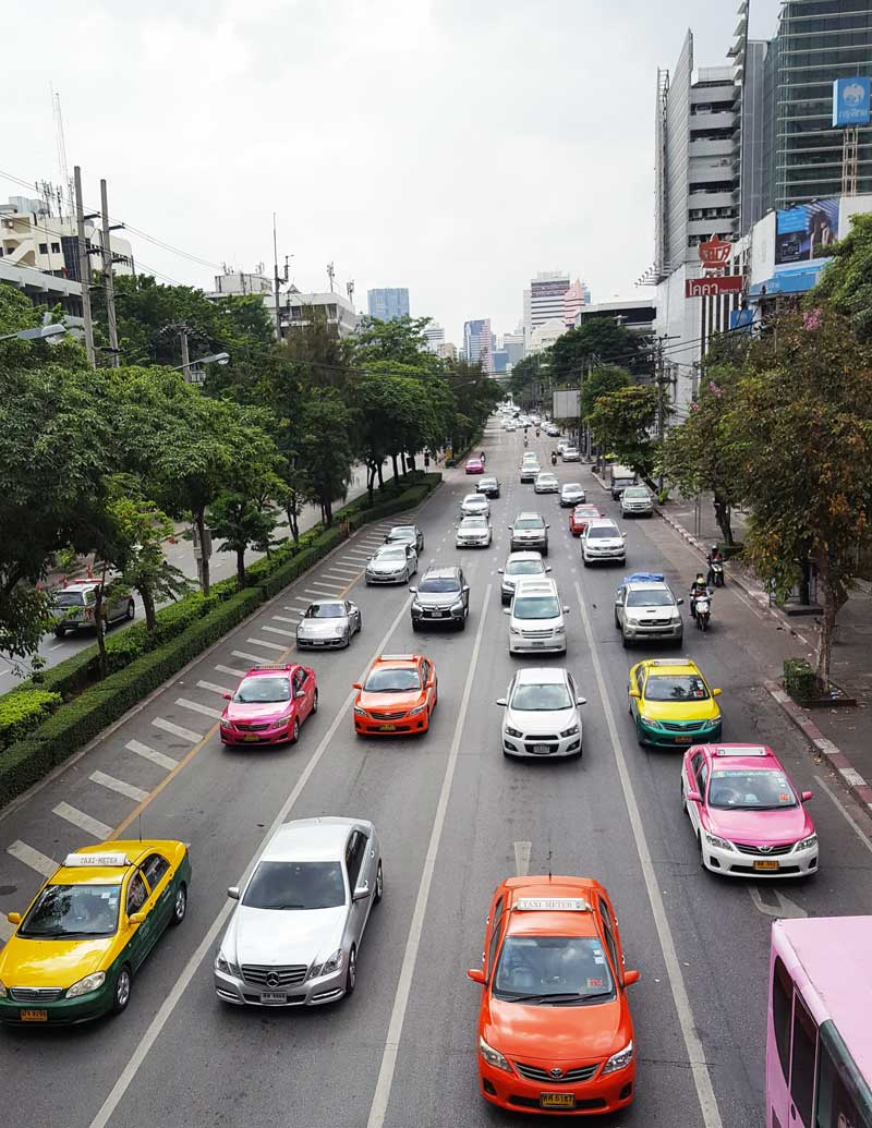 Kinh nghiệm du lịch bụi Thái Lan 5 - Bangkok Street