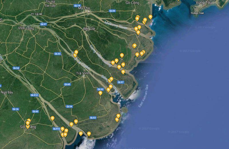 Khám phá 9 cửa sông của hệ thống sông Cửu Long 1