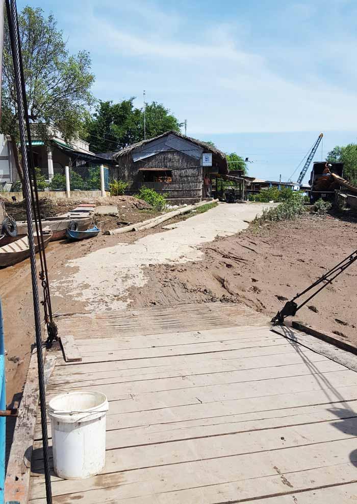 Khám phá 9 cửa sông của hệ thống sông Cửu Long 16 - Bến đò thủ