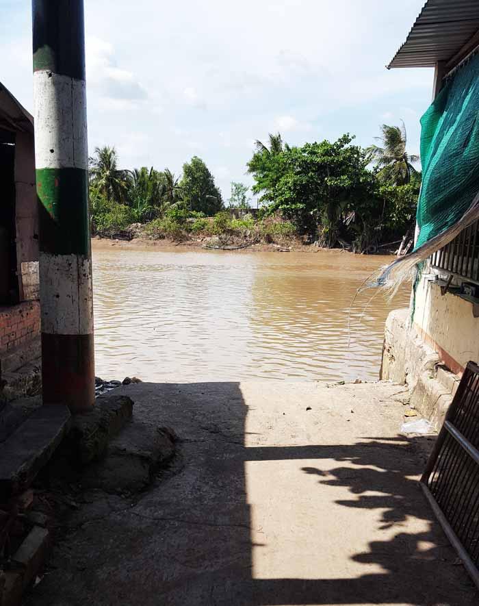 Khám phá 9 cửa sông của hệ thống sông Cửu Long 21 - Bến đò Tiệm Tôm