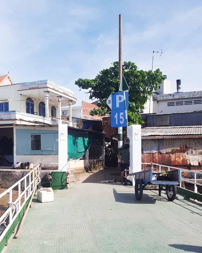 Khám phá 9 cửa sông của hệ thống sông Cửu Long 24 - Bến đò Tiệm Tôm