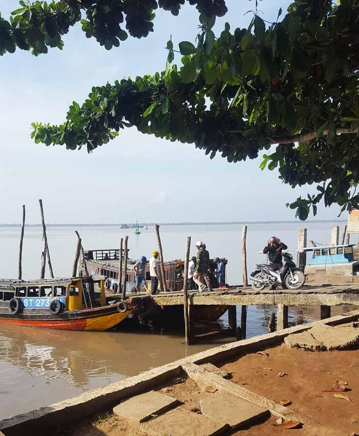 Khám phá 9 cửa sông của hệ thống sông Cửu Long 38 - Bến đò Định An