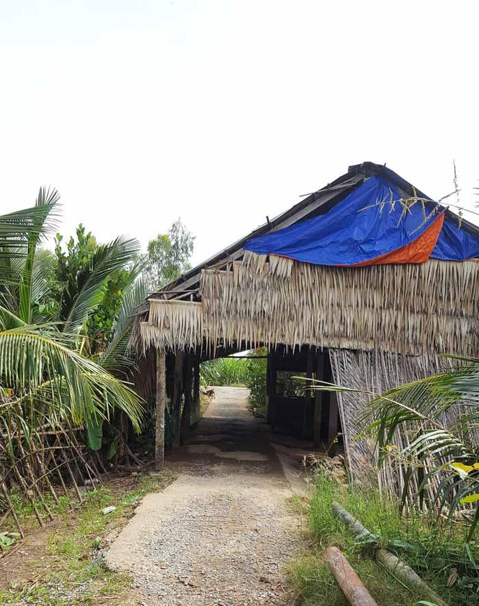 Khám phá 9 cửa sông của hệ thống sông Cửu Long 43 - Bến đò không tên cù lao Dung