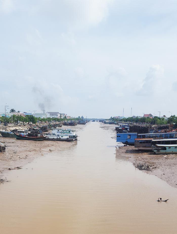Khám phá 9 cửa sông của hệ thống sông Cửu Long 46 - Cảng Trần Đề