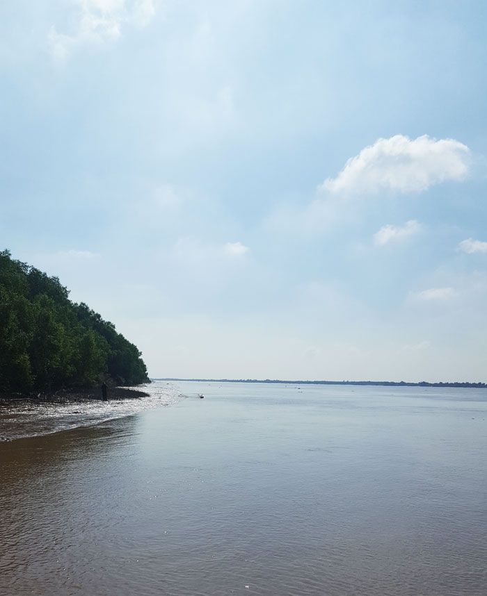 Khám phá 9 cửa sông của hệ thống sông Cửu Long 7 - Đò vừa rời bến Chùa