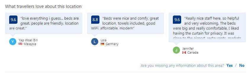 Phòng Dorm là gì - Customers reviews