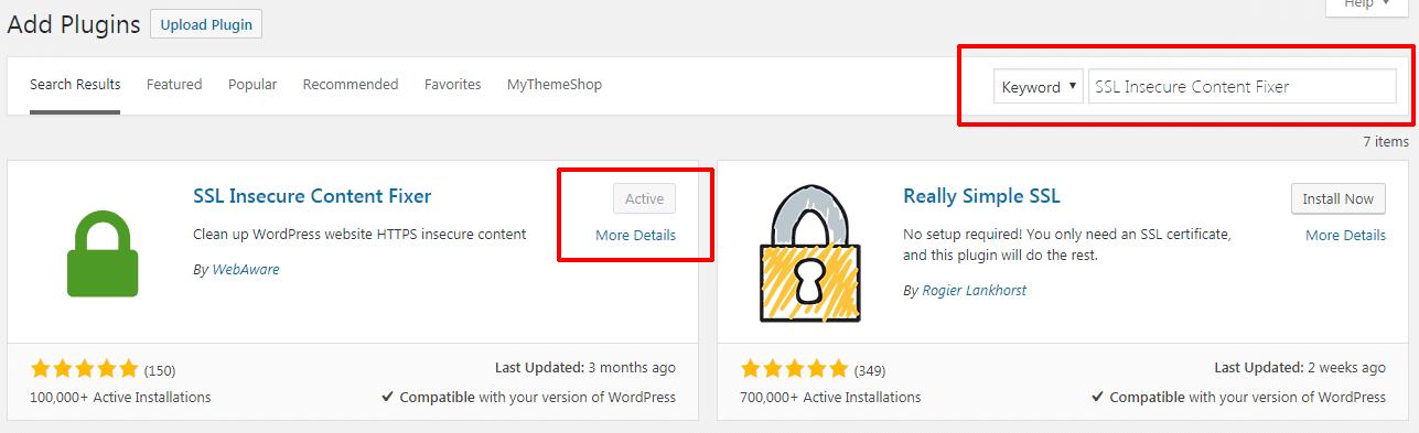 cài đặt dịch vụ Cloudflare 16 - install plugin SSL secure content