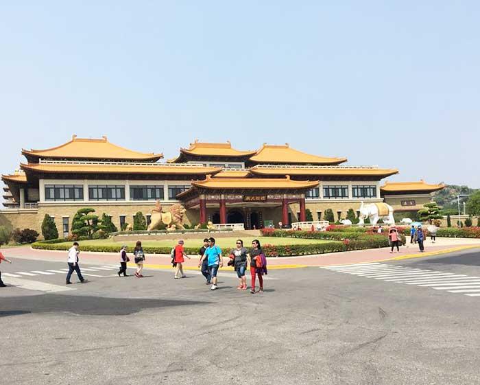 Chia sẻ kinh nghiệm du lịch bụi Đài Loan 2 - Phật Quang Sơn