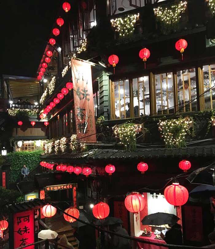 Chia sẻ kinh nghiệm du lịch bụi Đài Loan 9 - Phố cổ Jiufen