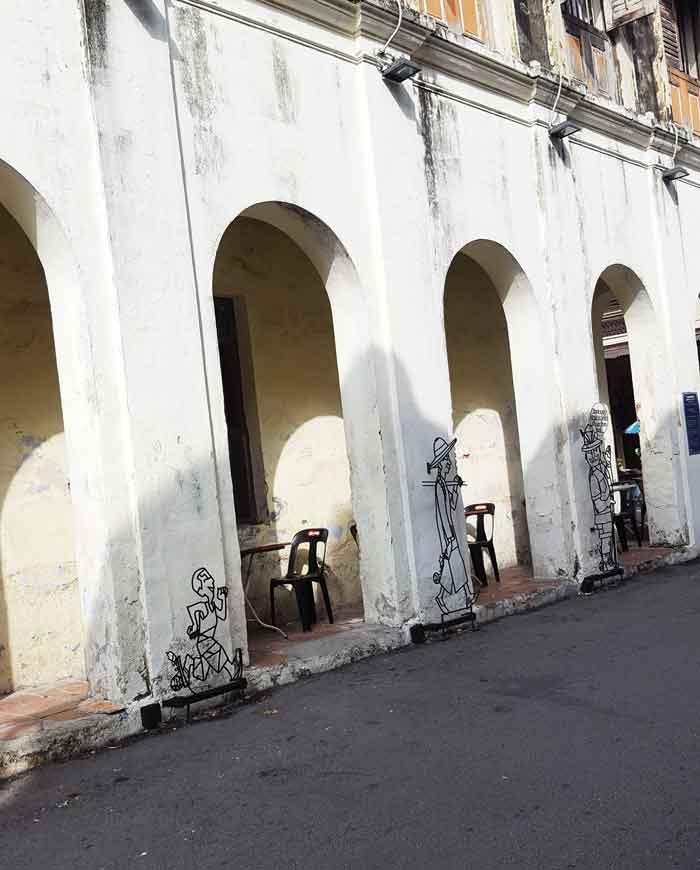 Chia sẻ kinh nghiệm du lịch bụi Penang Malaysia 13 - Penang Street Art