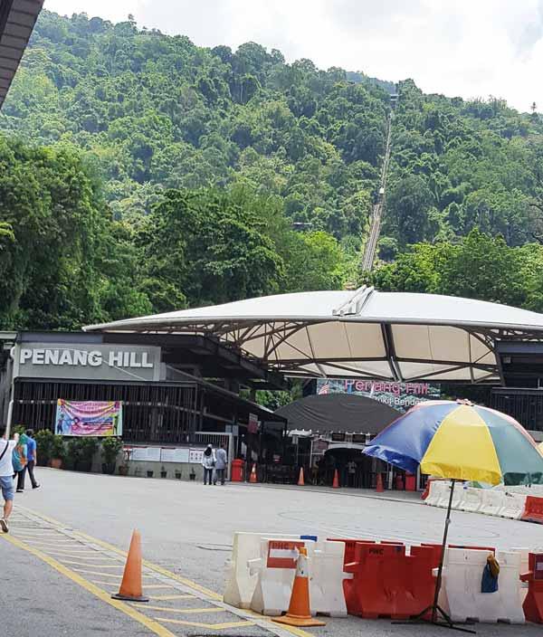 Chia sẻ kinh nghiệm du lịch bụi Penang Malaysia 16 - Penang Hill
