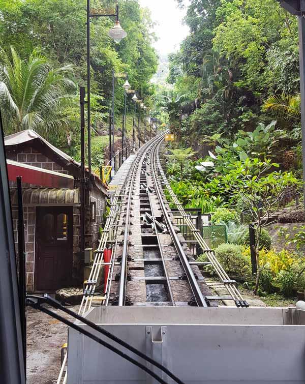 Chia sẻ kinh nghiệm du lịch bụi Penang Malaysia 17 - Penang Hill rail