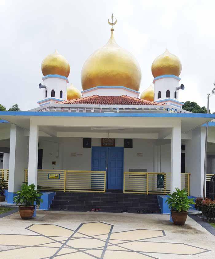 Chia sẻ kinh nghiệm du lịch bụi Penang Malaysia 22 - thờ hồi giáo Masjid Bukit Bendera