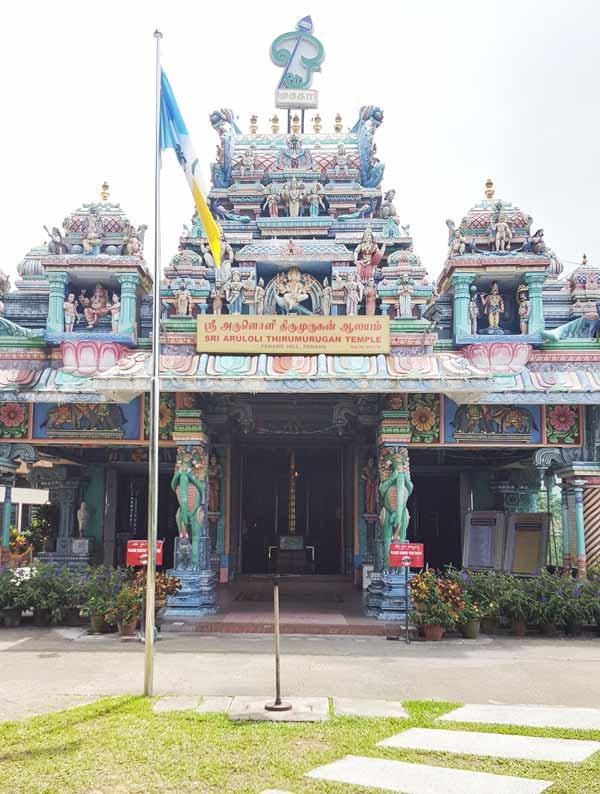 Chia sẻ kinh nghiệm du lịch bụi Penang Malaysia 23 - đền thờ đạo Hindu Temple