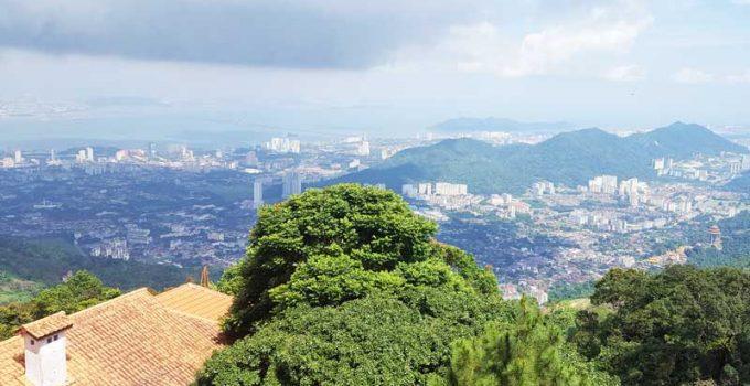 Chia sẻ kinh nghiệm du lịch bụi Penang Malaysia 24 - Penang Hill View