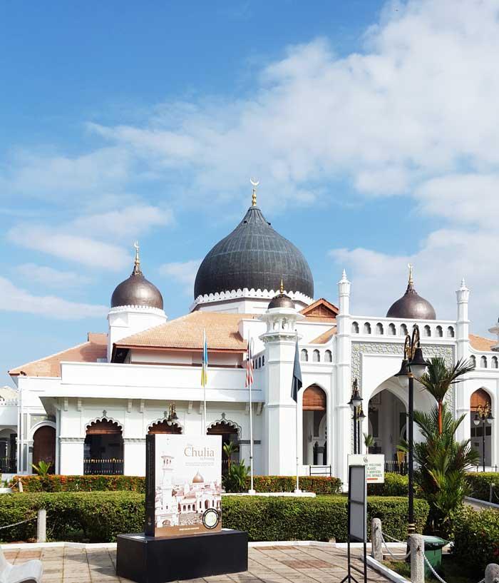 Chia sẻ kinh nghiệm du lịch bụi Penang Malaysia 8 - Kapitang Keling Mosque