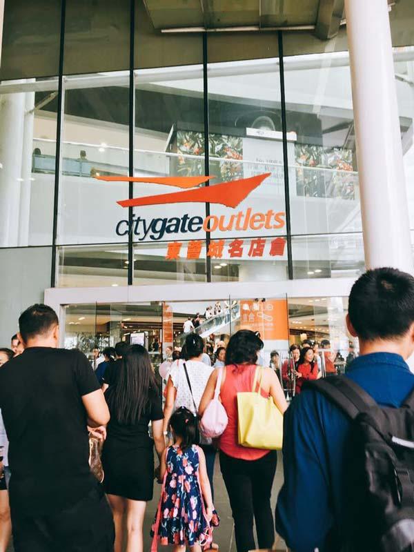 Chia sẻ kinh nghiệm du lịch bụi Hồng Kông - Citygate-outlets