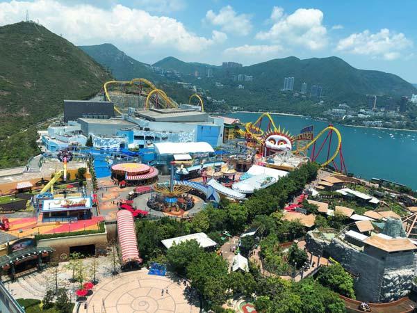 Chia sẻ kinh nghiệm du lịch bụi Hồng Kông - Ocean-Park