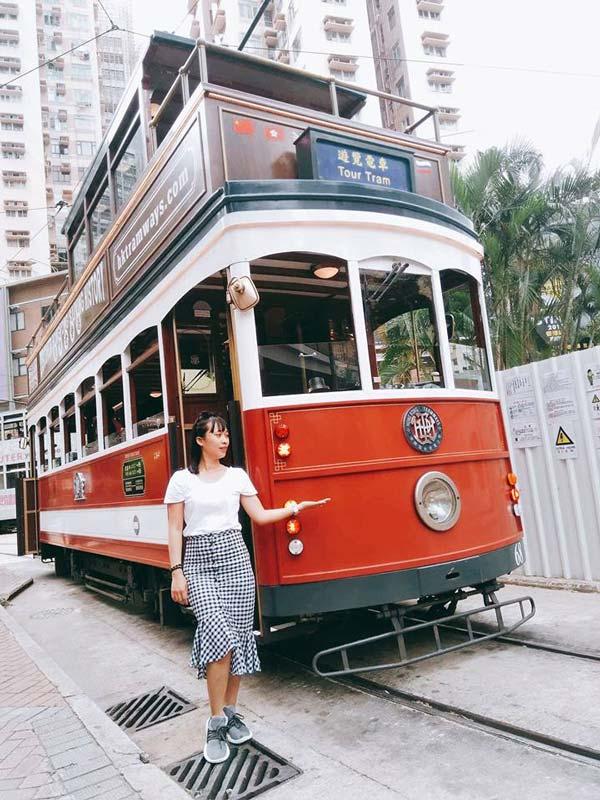 Chia sẻ kinh nghiệm du lịch bụi Hồng Kông - Oramic-Tram