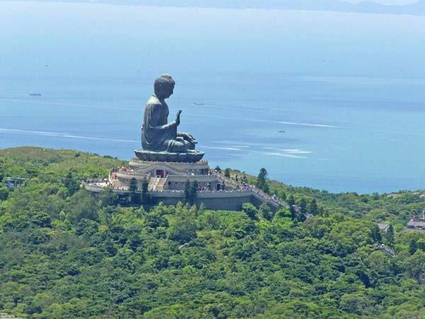 Chia sẻ kinh nghiệm du lịch bụi Hồng Kông - Tượng Phật Thiên Tân