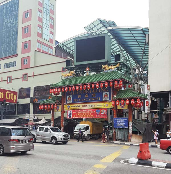 Chia sẻ kinh nghiệm du lịch bụi Malaysia - Petaling Street Market