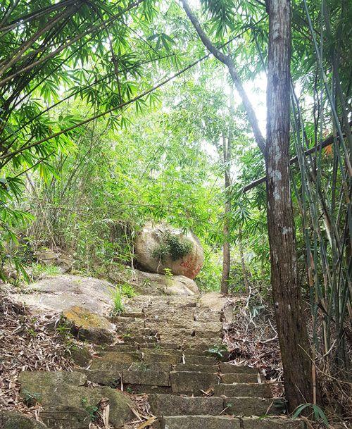 Chia sẻ kinh nghiệm leo núi Thị Vải - Đường lên cổng trời