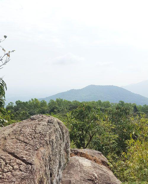 Chia sẻ kinh nghiệm leo núi Thị Vải - Đỉnh núi Thị Vải 1