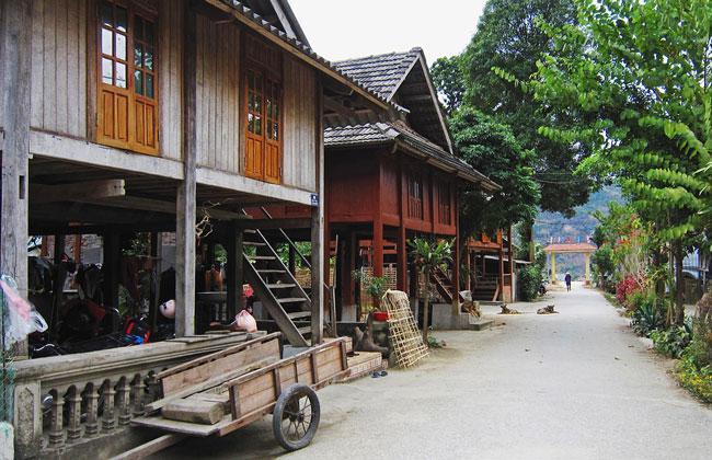 homestay là gì - một homestay ở Mai Châu - Việt Nam
