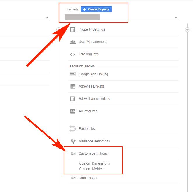 Hướng dẫn Cài đặt Google Dynamic Remarketing 10 - New custom dimenstions trong GA